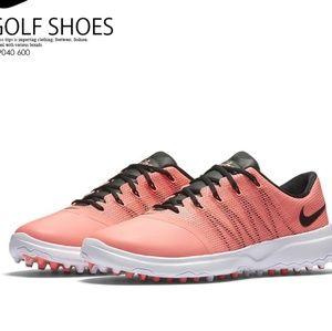 Nike Size 7.5Golf Shoes Lunar Empress 2 Lava Pink